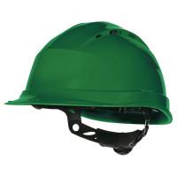 DELTA PLUS-CASQUE DE CHANTIER SERRAGE GLISSIÈRE-ZIRC1VE-Vert (Casque de chantier)