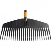 Balai à feuilles large Quikfit™ 25 dents FISKARS - 1000642 (Outils de jardin à main)