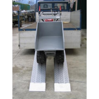 PAIRE DE RAMPES DE CHARGEMENT METALMEC 040X415X4000 - M040B2402U