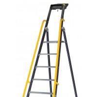 Rampe adaptable sur les escabeaux MP et MO CENTAURE à partir de 7 marches- 380188