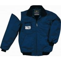 DELTA PLUS-RENO BLOUSON POLYESTER OXFORD ENDUIT PU Bleu Marine-RENOBM0
