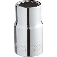 SAM OUTILLAGE-DOUILLE 1/2 6 PANS 10 MM-SH-10