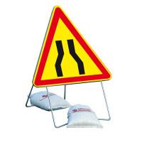 Panneau de signalisation NADIA SIGNALISATION AK3 1000 classe T1 chaussée rétrécie - 201209