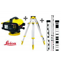 LEICA-Pack Leica Sprinter 150M avec mire code barre 4 m GSS112 et trépied CTP104-6002136