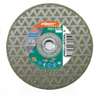 Disque diamant NORTON PRO SURF  Ø 230 mm Alésage 70/22.23 + Flasque - 70184640592