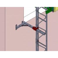 SERRE-JOINT D'EMBRASURE CASTOR STEEL HAEMMERLIN - 311503301