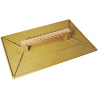 TALOCHE ABS 27x18CM RECTANGLE JAUNE SOFOP TALIAPLAST-300102