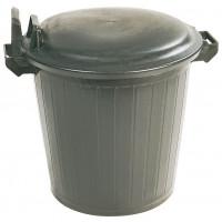Poubelle plastique de chantier sans couvercle 50L SOFOP TALIAPLAST- 330303