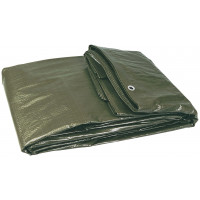 BACHE PLASTIQUE 4X5M RENFORCEE (120 G/M2 ENV.) SOFOP TALIAPLAST - 390101