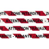 "RUBAN ""ZONE INTERDITE"" 500MX75MM SOFOP TALIAPLAST-545905"