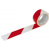 Ruban adhésif  66M * 50 MM Rouge et blanc SOFOP TALIAPLAST - 540402