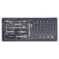 Module thermoformé pour composition de douilles et accessoires 1/4'' SORI (vendu sans outillage ) -SOM007