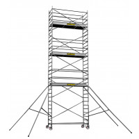 CENTAURE - Echafaudage aluminium roulant STL 5, plancher jusqu'à 4m90 - 414825