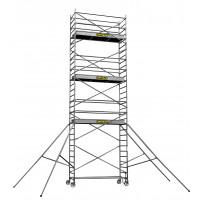 CENTAURE - Echafaudage aluminium roulant STL 6, plancher jusqu'à 5m90 - 414826