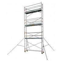 Echafaudage aluminium SERENITE longueur 3m largeur 0,69 m hauteur de travail 9m90 3 niveaux CENTAURE STXL300 - 504768