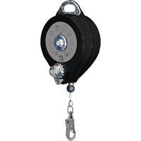 ANTICHUTE À RAPPEL AUTOMATIQUE À CÂBLE AVEC TREUIL + 1 AM016 - 20 M DELTA PLUS- TR01720T (Accessoires Antichutes)