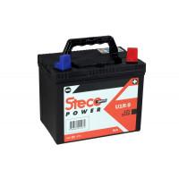 Batterie SLA 12V 23Ah 250A  Polarité gauche 195x130x183 Gamme POWERSPORT STECO Motoculture - U1R9SLA-G