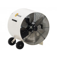 SOVELOR- VENTILATEUR-  EXTRACTEUR HELICOIDE MOBILE SUR ROUES DIAMETRE 600 -V600