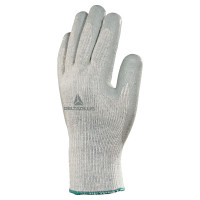 DELTA PLUS-GANT TRICOT POLYESTER/COTON PAUME ENDUITE LATEX-VE74009