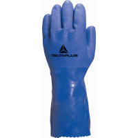 DELTA PLUS-GANT TREMPE EN PVC SUPPORT COTON TYPE PETROLIER-VE780BL0