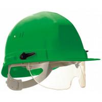 SOFOP TALIAPLAST-Casque polyéthylène à molette avec lunette intégrée Visiocéanic vert- 564823
