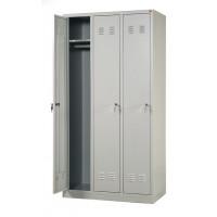 Vestiaire industrie propre 3 cases 188x900x490 ARMAPRO SORI -VIP3LC