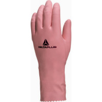 DELTA PLUS-GANT LATEX MENAGE ROSE ZEPHIR 210-VE210RO0