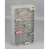 Casier variopro métal 60 tiroirs plastiques 300x135x560 SORI- 465520