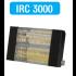 Chauffage radiant SOVELOR infrarouge électrique IPX5 halogènes à quartz. Epoxy Noir - IRC3000CN