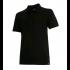 Polo Noir  piqué manches courtes en coton ATLAR II diadora - 160299800130