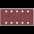 Papier abrasif Makita P-33211 à abrasifs velcro, 115 mm x 229 mm, grain 120 (paquet de 10) -P33211