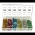 Coffret de 120 fusibles assortis enfichables standard-14102