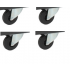 Jeu de 4 roulettes pivotantes Ø 100 pour CR1000(B) - CR1048(B) SORI - OCRP48