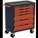 Servante d'atelier rouge 6 tiroirs SORI - 8600