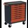 Servante d'atelier rouge 8 tiroirs SORI - 8800